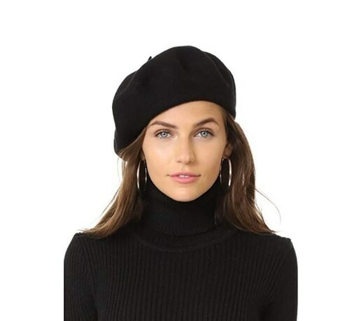 Hat Attack Classic Wool Beret