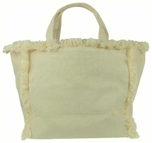 Hat Attack Launch Tote, Packable Canvas Bag for Beach, Airplane, or Park BVV605