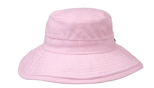 """Karen Keith Bucket Hat for Sun and Outdoors, Cotton Canvas, Packable, OneSize, 3.5"""" Brim UPF50+ Protection"""