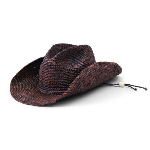 San Diego Hat Company Women's Crocheted Raffia Cowboy Hat RHC1052