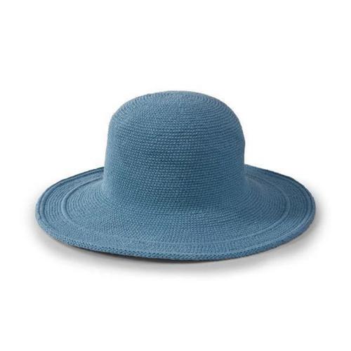 San Diego Hat Company Original Women's Cotton Crochet Large Brim Hat One Size Packable CHL5