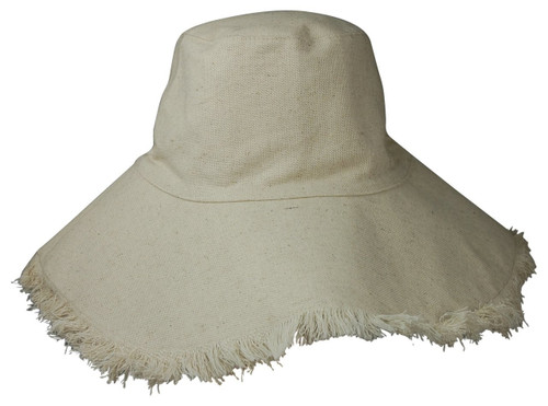 Hat Attack Canvas Packable Hat, Fringed, BVV603