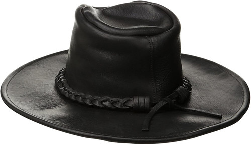 Henschel Leather Walker Hat Made in USA Coyote Peterson Raging Bull Cowhide 1101