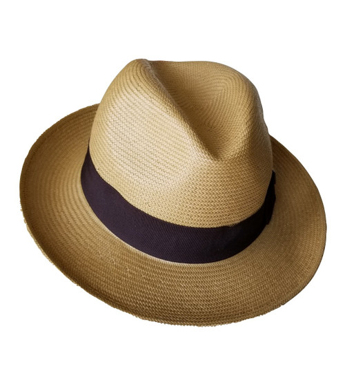 Kenny K Fedora, Classic Panama Style Hat, 100% 3-bu Toyo, Elegant and Tasteful PAN53