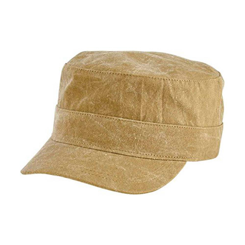 San Diego Hat Company Military Army Cap, Ripstop Cotton, Olive Green, One Size, Unisex