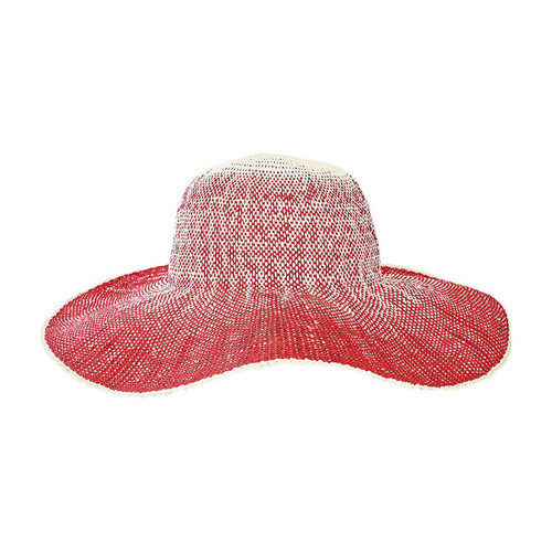 San Diego Hat Company Women's Ombre Floppy Sun Hat, Sunhat, Red, OS