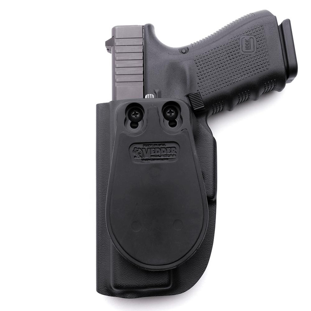 Back of ProDraw™ Paddle OWB Holster with a Glock 19