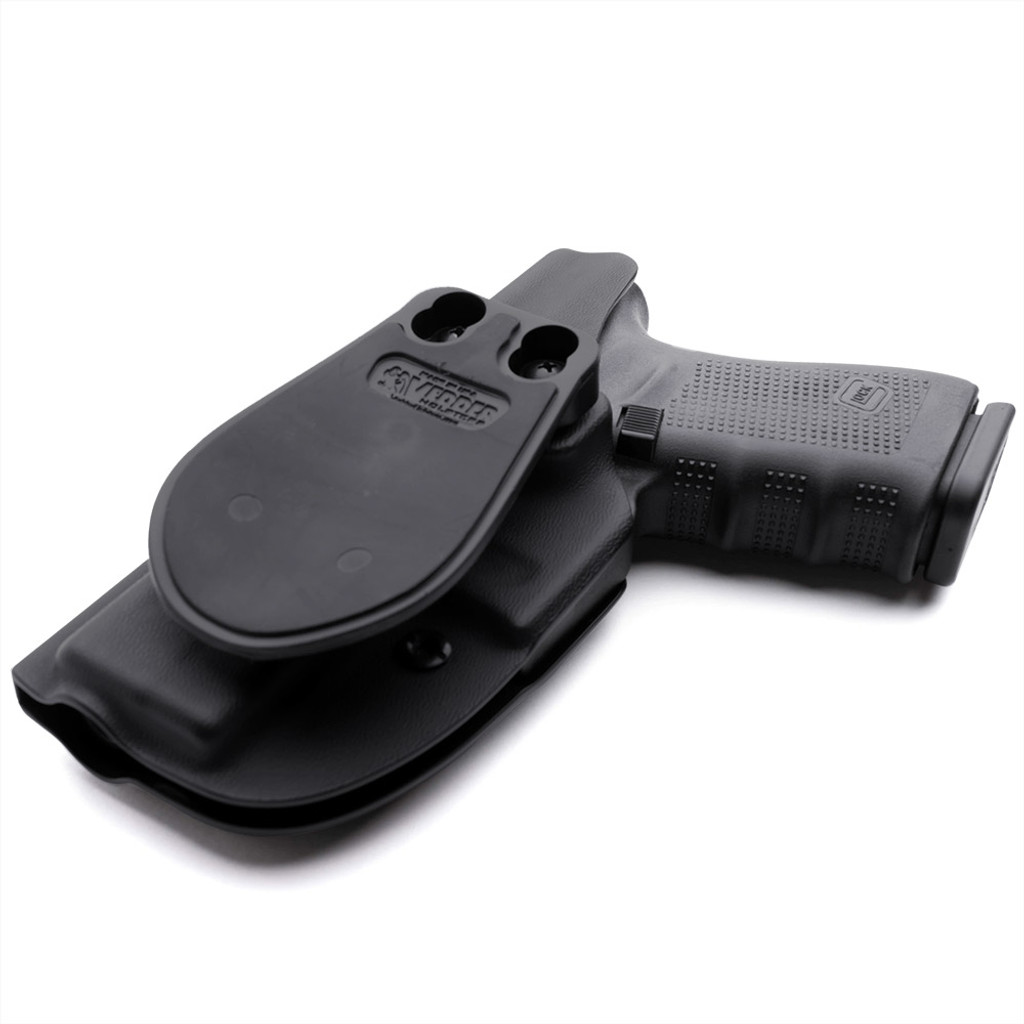 ProDraw™ Paddle OWB Holster with a Glock 19 Side View of Back