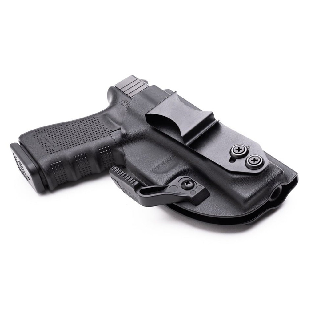 "S/&W 2/"" 5-Shot RevolversIWB Conceal Carry Slim Tuck Holster w// Sweat Guard"