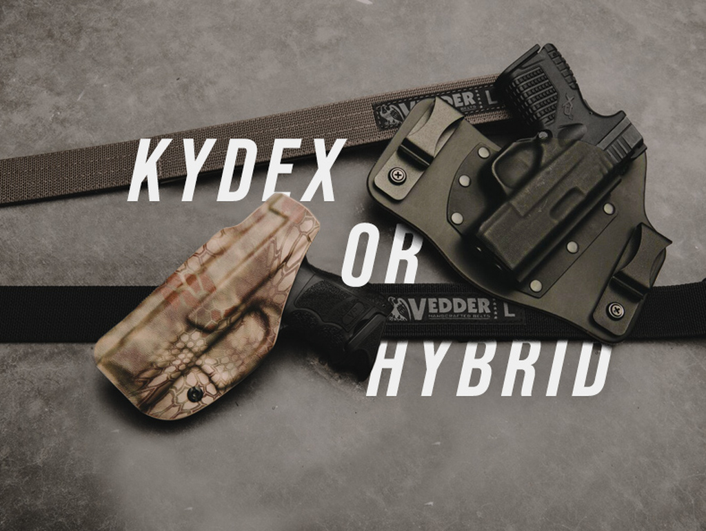 ​What's the difference between Kydex Holsters and Hybrid Holsters?