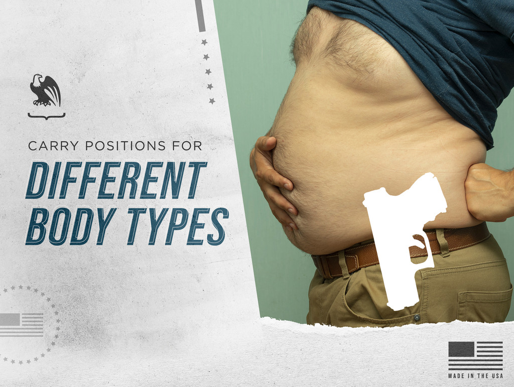 Best Concealed Carry Positions for Different Body Types