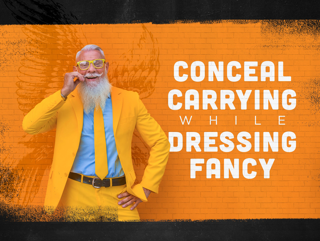 5 Considerations For Concealed Carry While Dressed Fancy