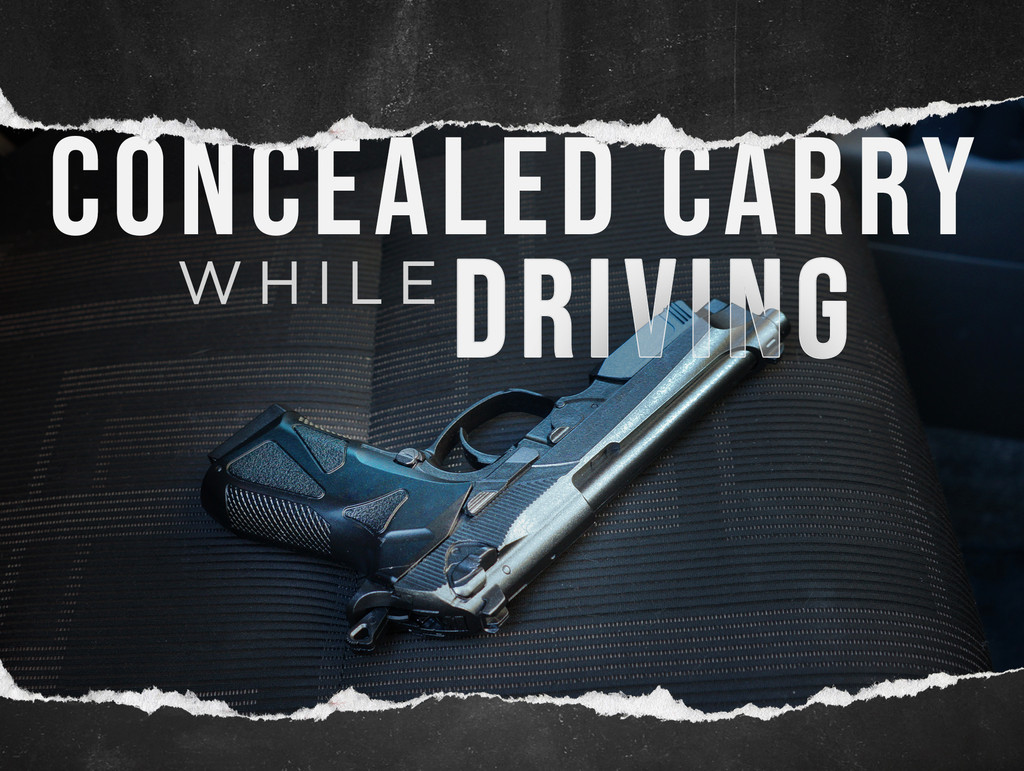 Can You Concealed Carry While Driving?