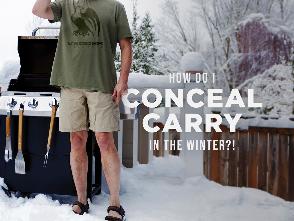 How To Conceal Carry In The Winter