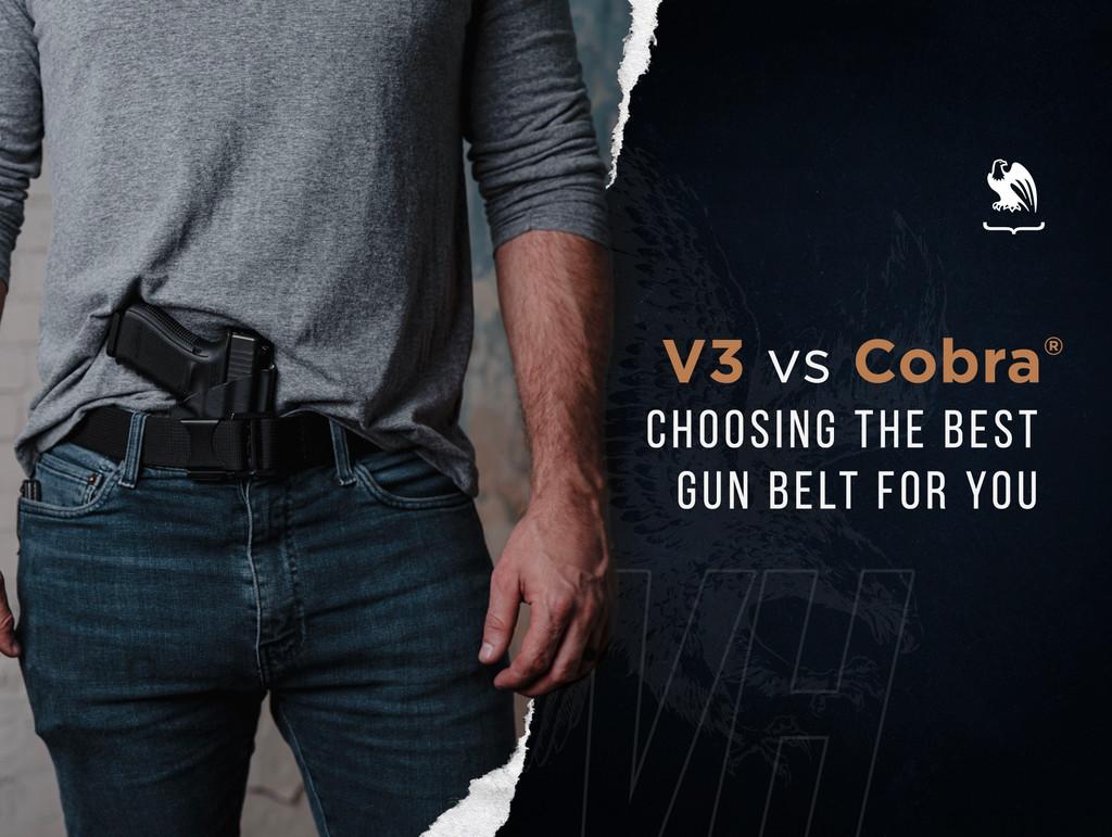 V3 vs Cobra® Belt - Choosing The Best Gun Belt