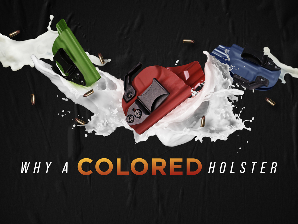 6 Reasons You May Want A Colored Holster