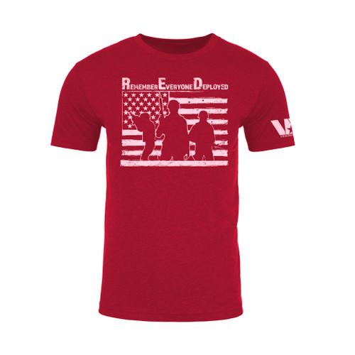 R.E.D. - Remember Everyone Deployed T-Shirt