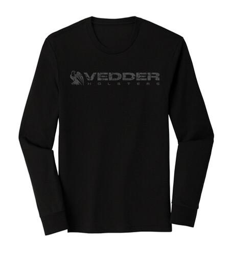 Vedder Holsters Long Sleeve Logo Shirt