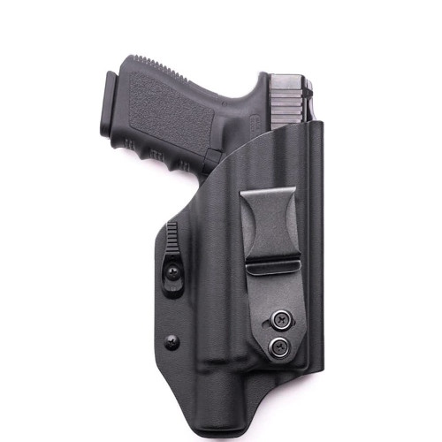 BLK RH Sig Sauer P238 238 .380 Leather 2 Clip IWB Carry Conceal Holster CCW