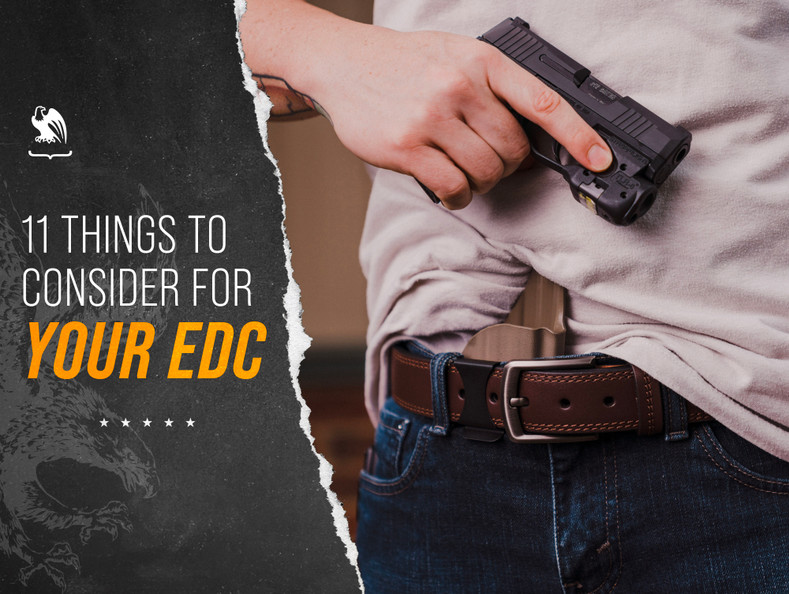 11 Things to Consider for Everyday Concealed Carry