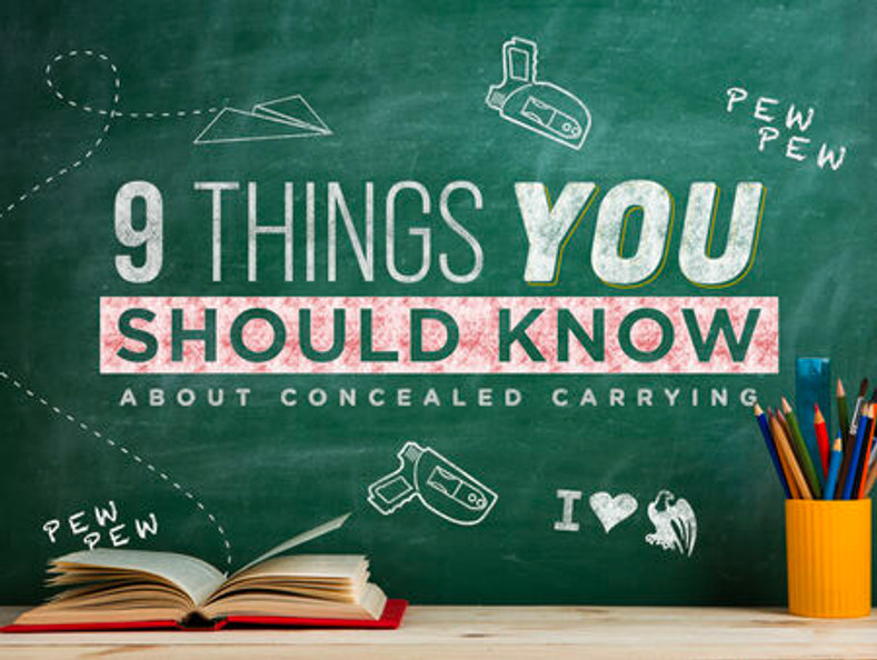 9 Things You Should Know About Concealed Carrying to Avoid Going to Jail