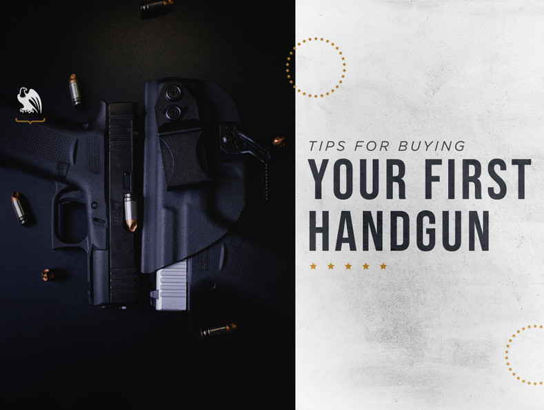 Tips for Buying Your First Handgun