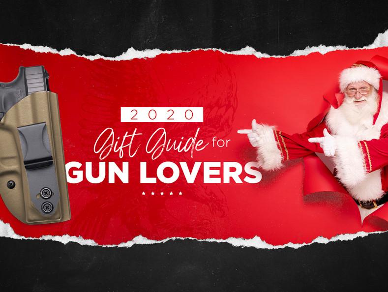 2020 Christmas Gift Guide for Gun Lovers