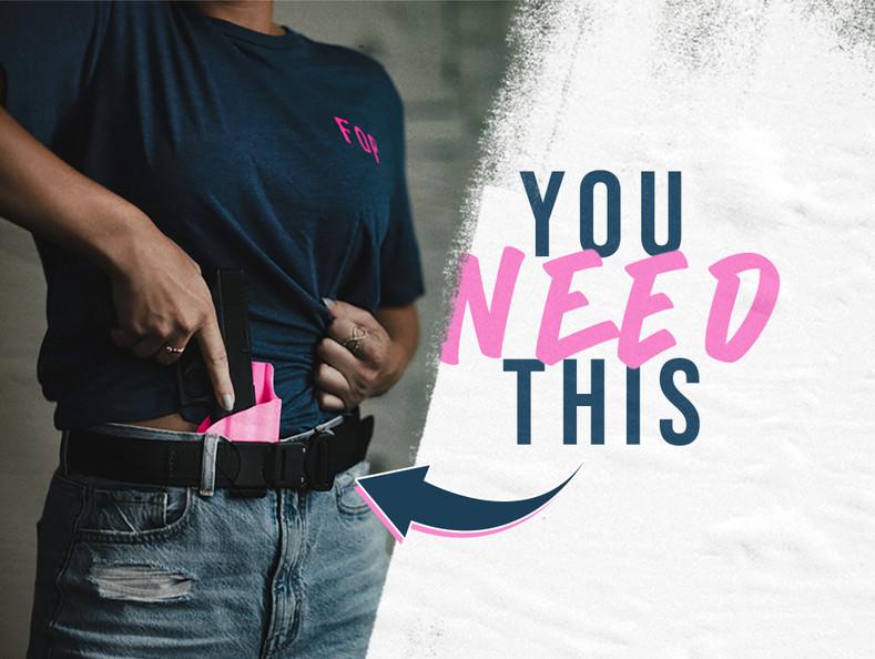 Why You Need a Cobra® Gun Belt