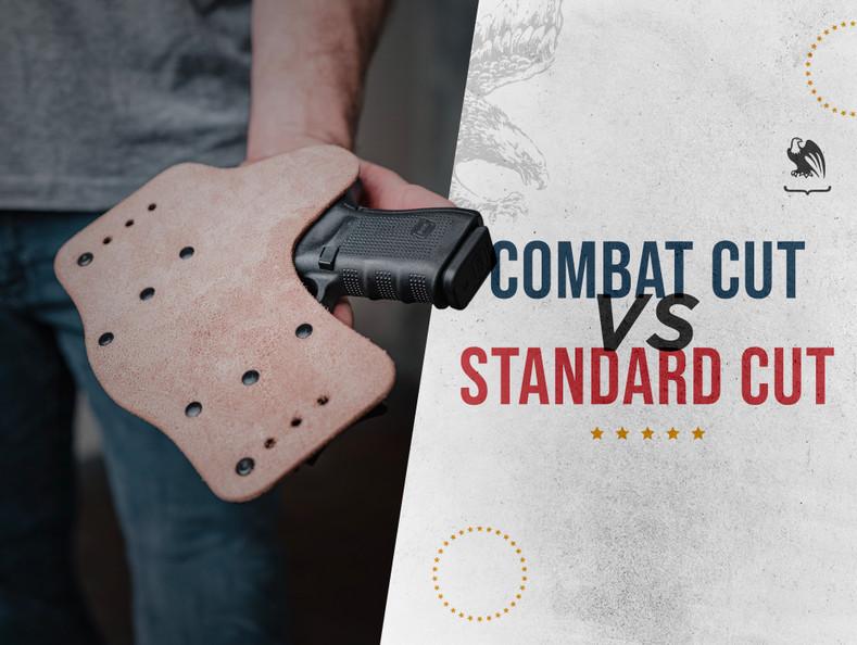 Combat Cut vs Standard Cut Hybrid Holster
