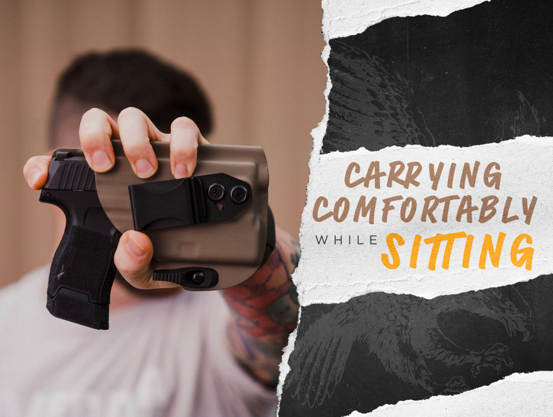 How To Comfortably Conceal Carry While Sitting For Long Periods of Time