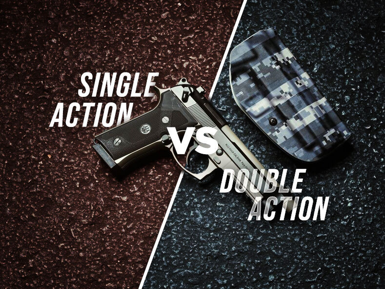 What Is A Double Action vs. Single Action Handgun?