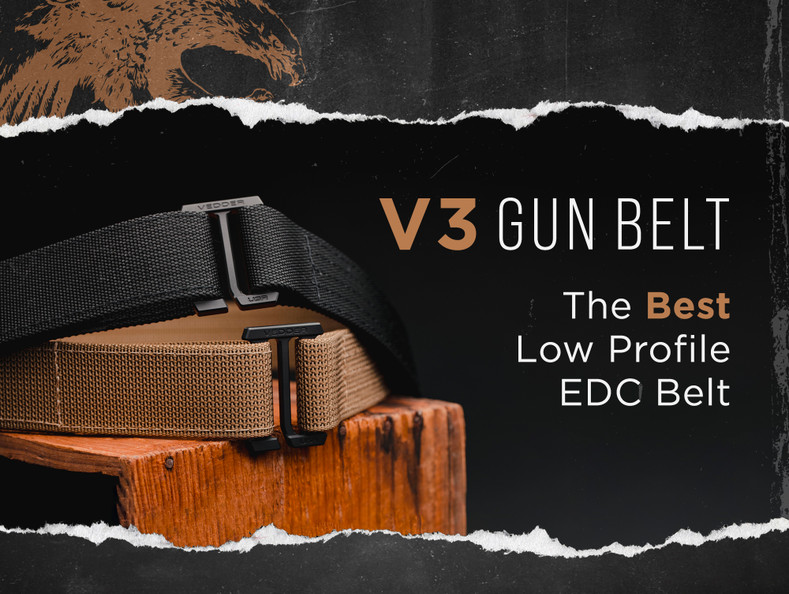 Why The V3 Is The Best Low Profile EDC Belt