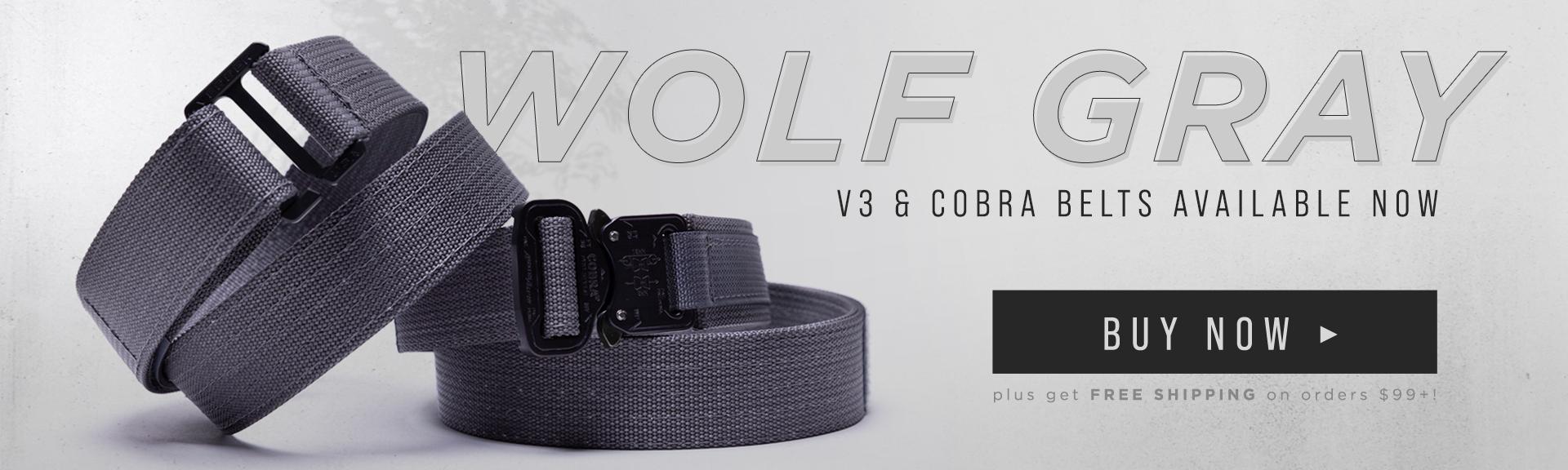 Gray Gun Belts