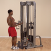 Body Solid ProClub Line Dual Cable Column