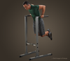 Body Solid Free Standing Dip Station (GDIP59)