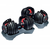 Adjustable Dumbbell Set SelectTech 552 | 5-52.5Lb