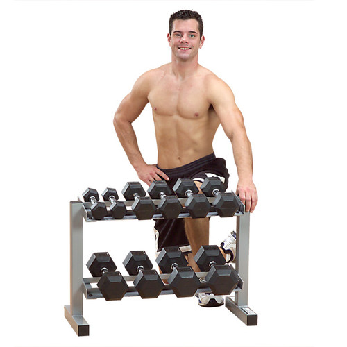 """Body Solid Powerline 32"""" Dumbbell Rack (PDR282X)"""