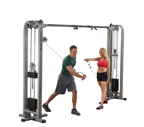 Body Solid ProClub Line Cable Crossover - 2x165 LB Weight Stacks