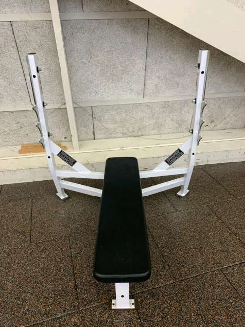 Flat Olympic Weight Bench by Hammer strength