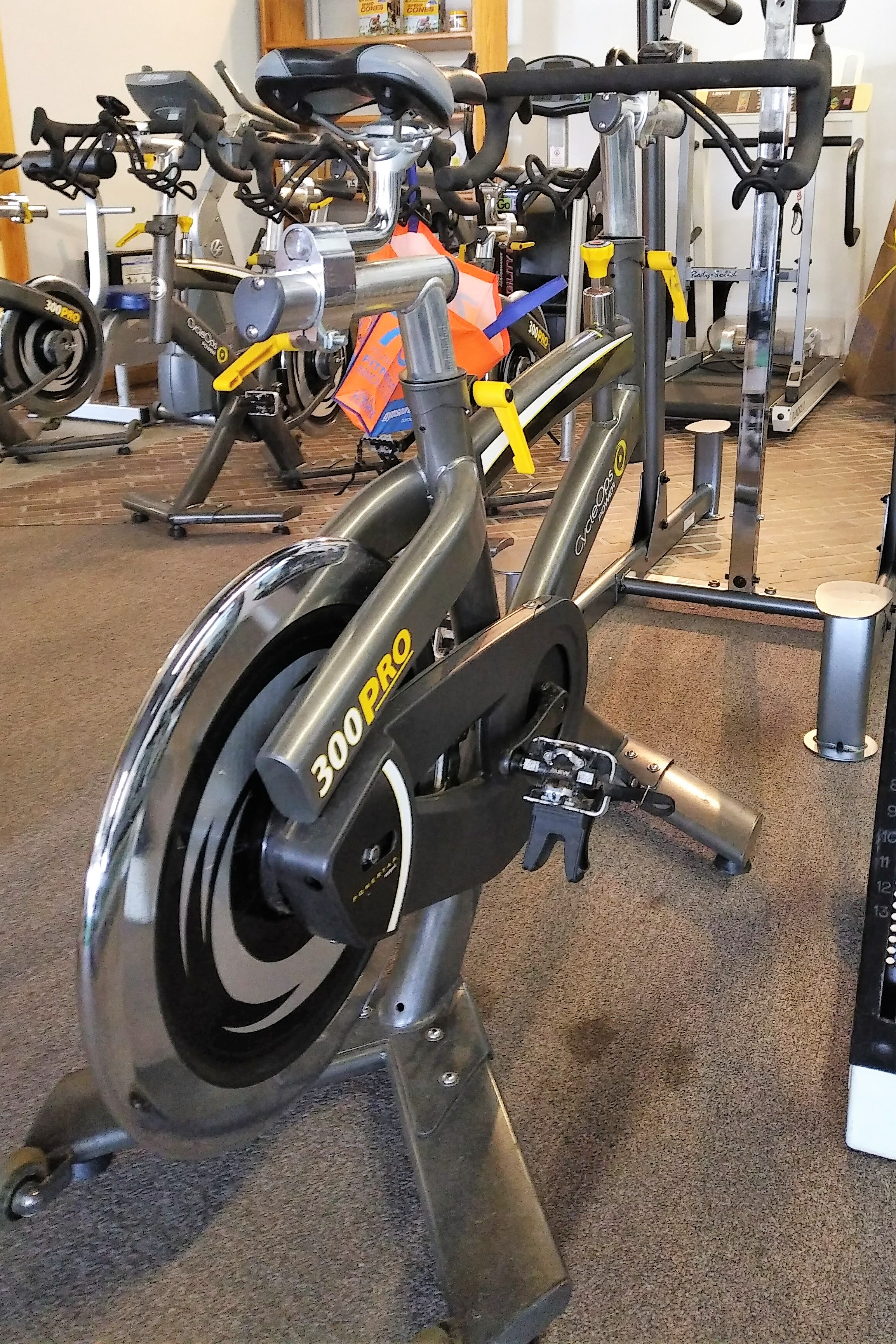 Spin Bike Rentals at Big Fitness