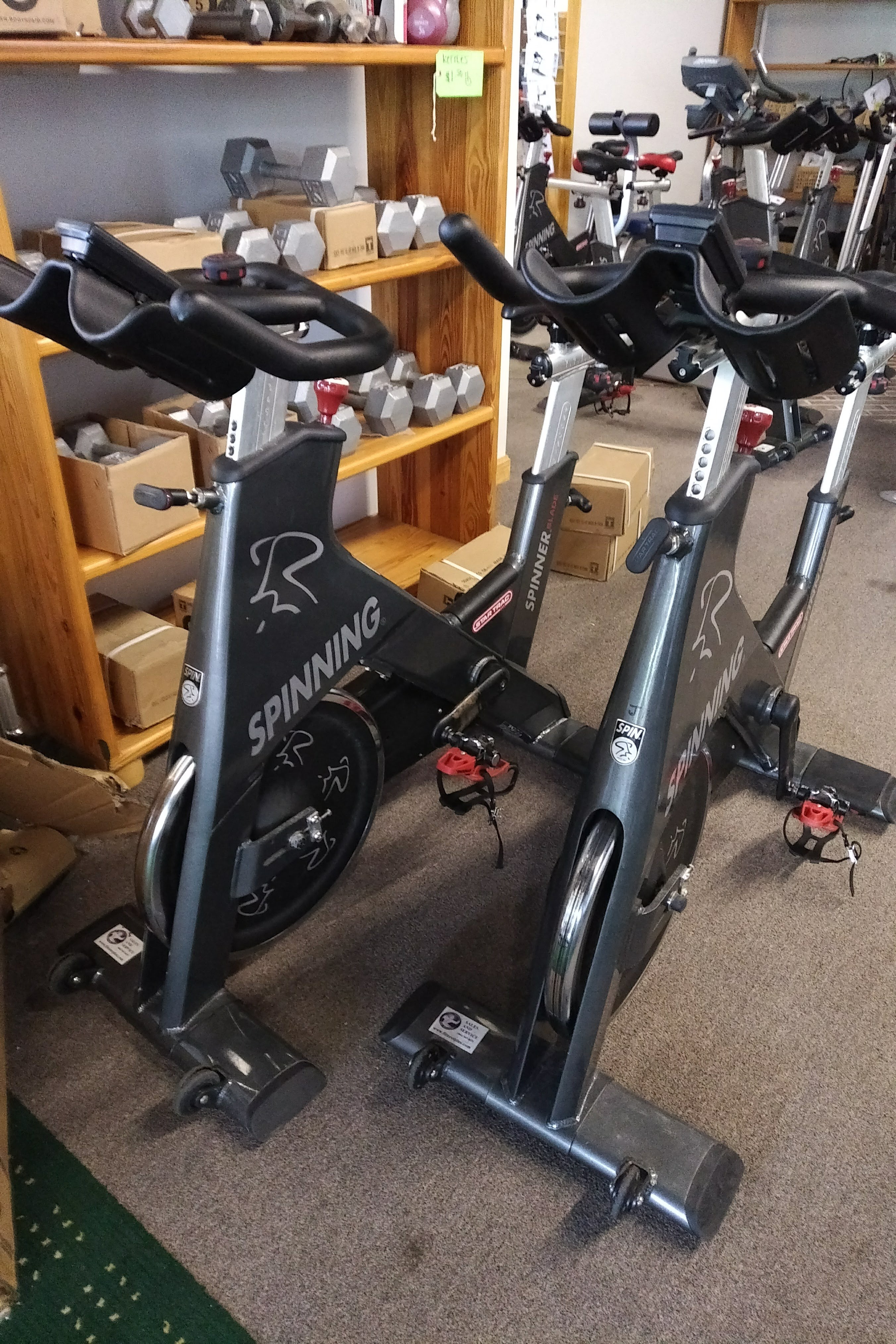 Just in Fitness Equipment June 4th 2018