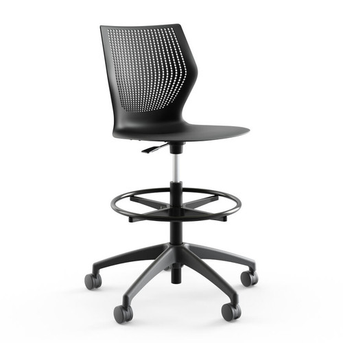 MultiGeneration High Task Chair by Knoll (XOUT-MGENHIGHTASK-C-N-3-SC-3-DG-NONE)
