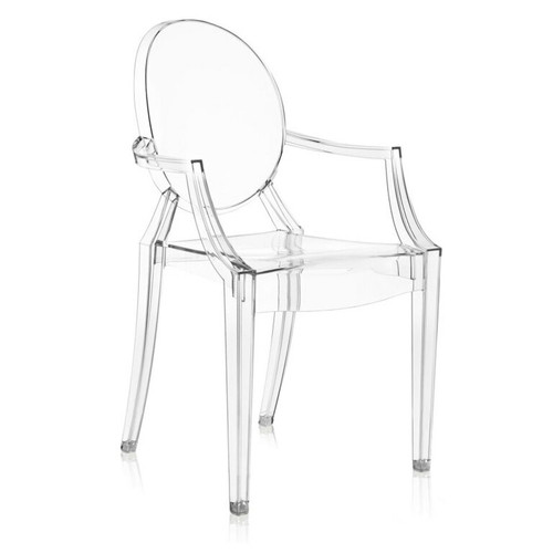 Louis Ghost Chair (XOUT-KTLGCC-CRYSTAL)