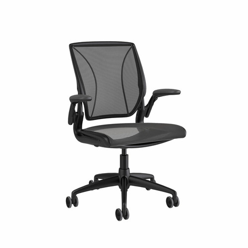 Diffrient World Chair by Humanscale (XOUT-HSDWCBN10W11N10BB-1)