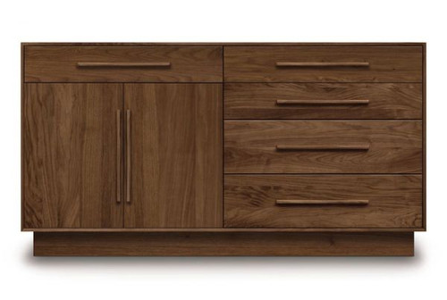 """Moduluxe 35"""" h 4 Drawers with 1 Drawer Over 2 Doors Dresser (XOUT-CP-4-MOD-71-04-1)"""