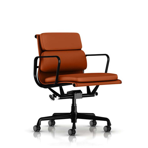 Eames Soft Pad Management Chair by Herman Miller (XOUT-EA435CAMUDBKVZ20)