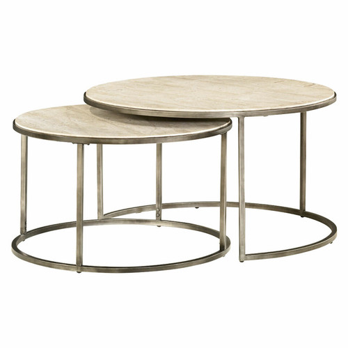 Modern Basics Round Cocktail Table by Hammary (XOUT-HAM190-911-BRONZE)