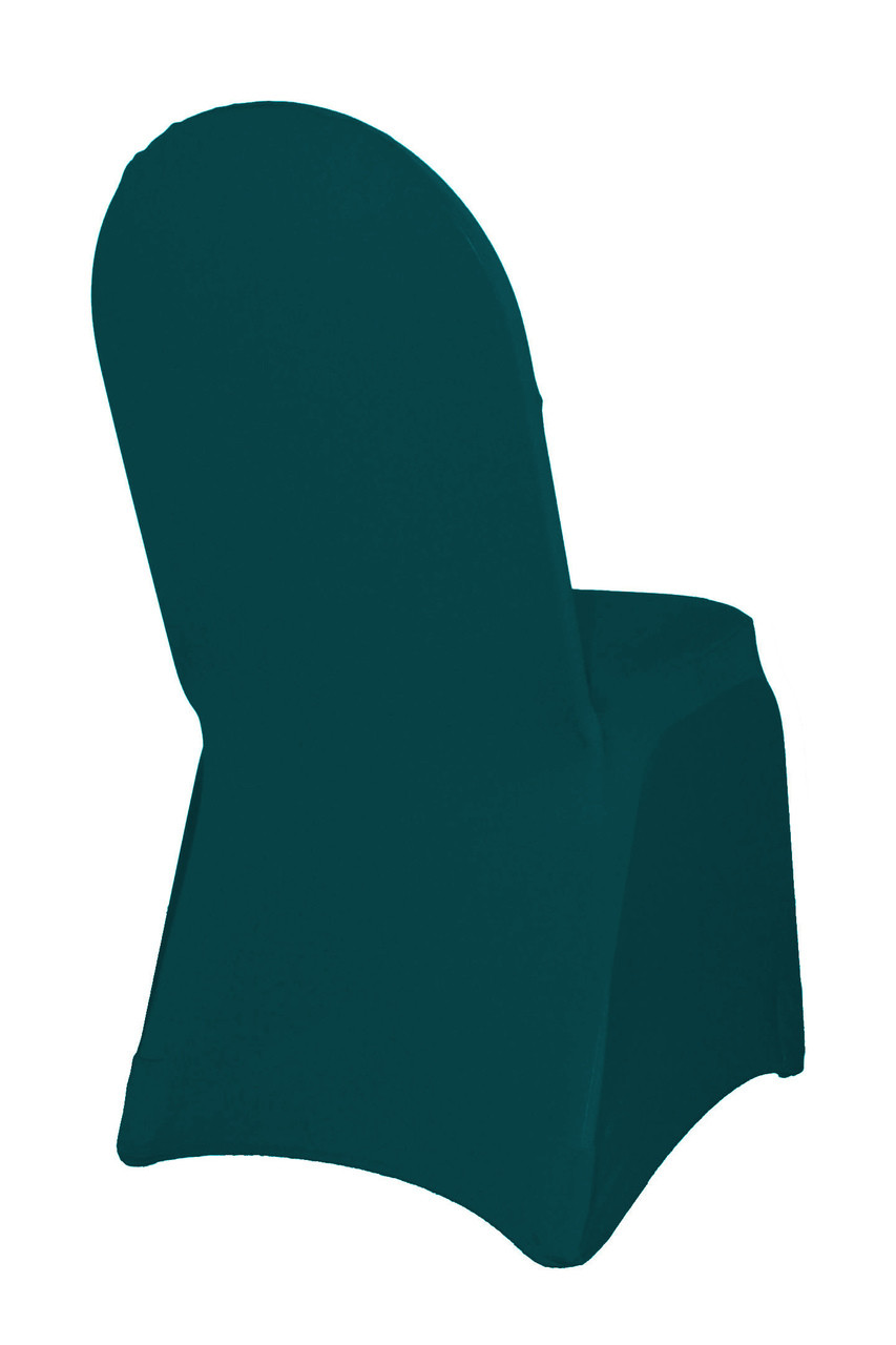 Tremendous Spandex Banquet Chair Cover Hunter Green Pack Of 6 Inzonedesignstudio Interior Chair Design Inzonedesignstudiocom