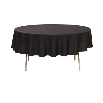 225 & 60 inch or 5 ft Round Table Covers | Bridal Tablecloths