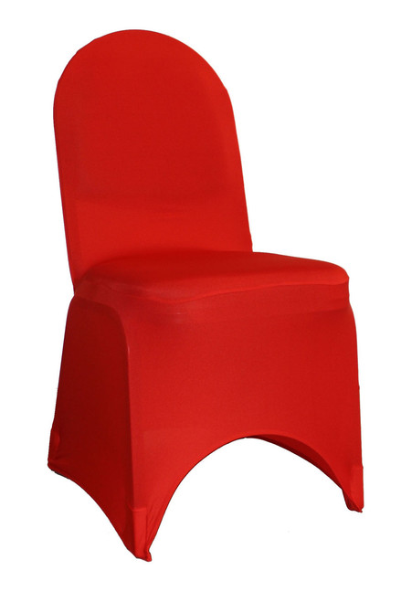 Awe Inspiring Spandex Banquet Chair Cover Red Gmtry Best Dining Table And Chair Ideas Images Gmtryco